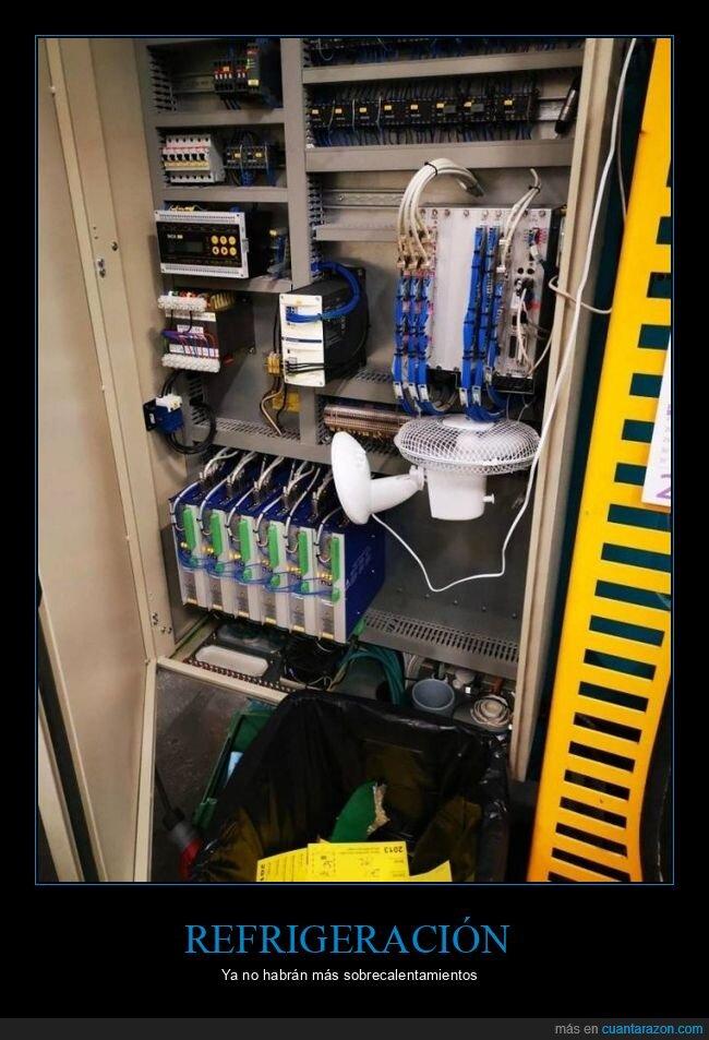 refrigeración,ventilador,wtf