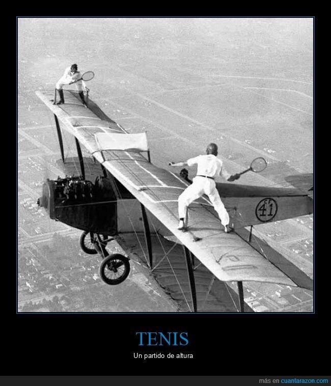 avioneta,tenis,wtf