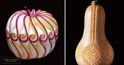 Enlace a La artista japonesa Tomoko Sato convierte la fruta en motivos preciosos