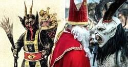 Enlace a Datos curiosos sobre el aterrador Krampus, el demonio de la Navidad