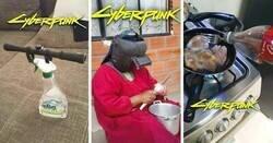 Enlace a Imágenes de tecnología estilo 'Cyberpunk 2077' que demuestran que el futuro es hoy
