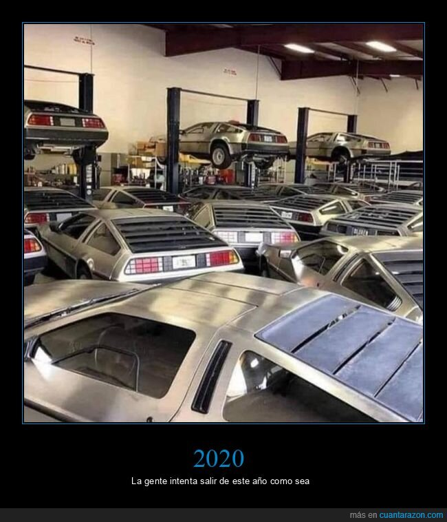 2020,coches,delorean,wtf