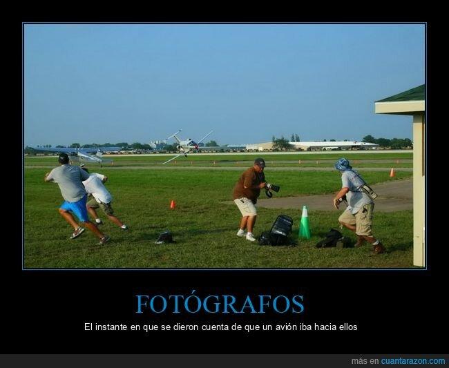 avión,fails,fotógrafos