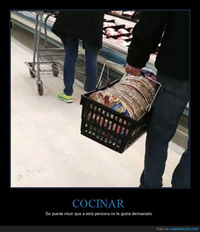 compra,pizzas,supermercado