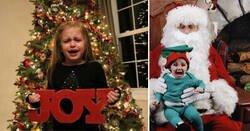 Enlace a Imágenes de niños a los que no les gusta nada la Navidad