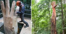 Enlace a Este escultor da vida a los árboles dañados utilizando su motosierra