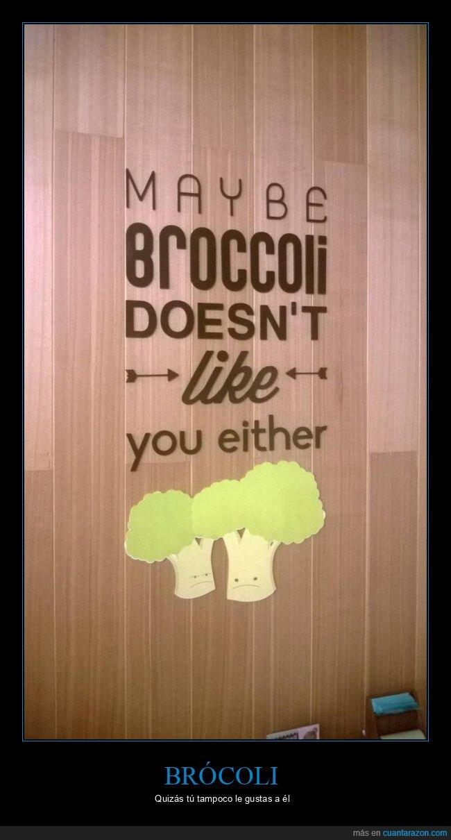 brócoli,gustar