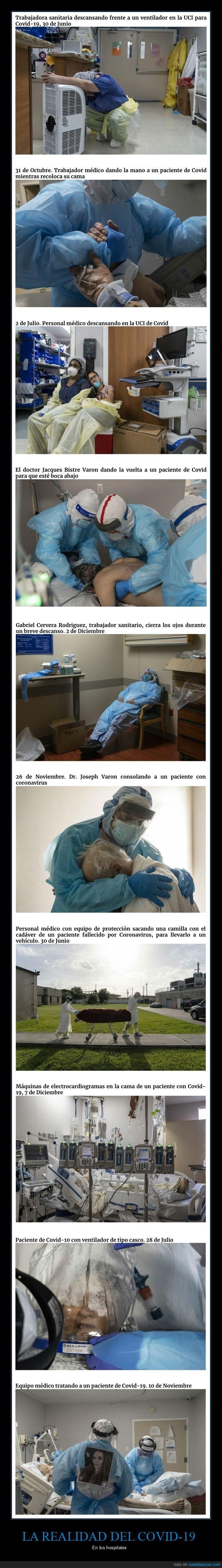 coronavirus,hospitales,sanitarios