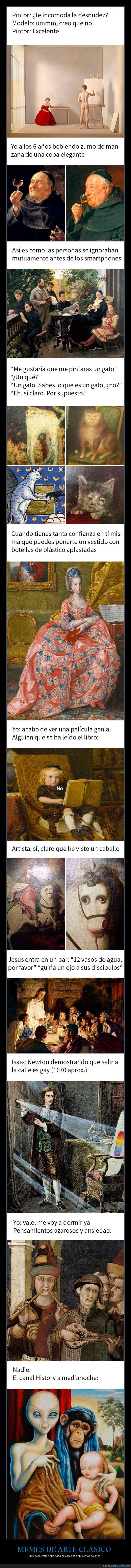 historia del arte,memes