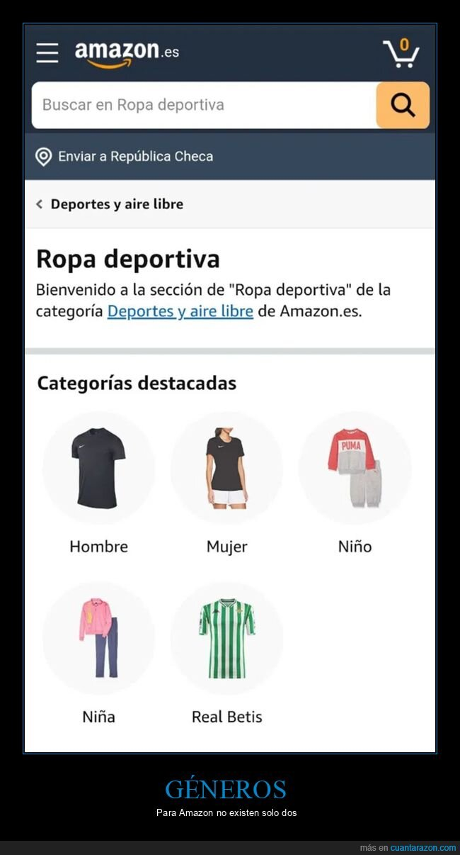 amazon,betis,géneros,wtf