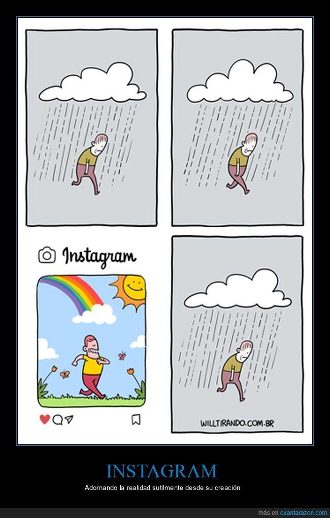 instagram,realidad