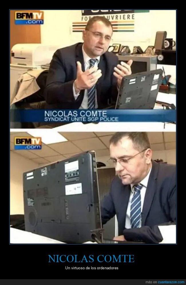 al revés,nicolas comte,ordenador,portátil