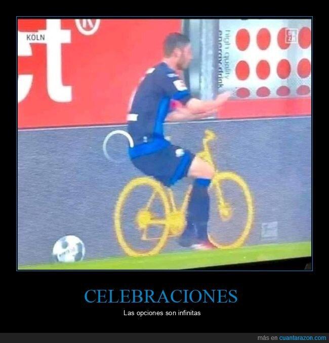 bicicleta,futbol,jugador