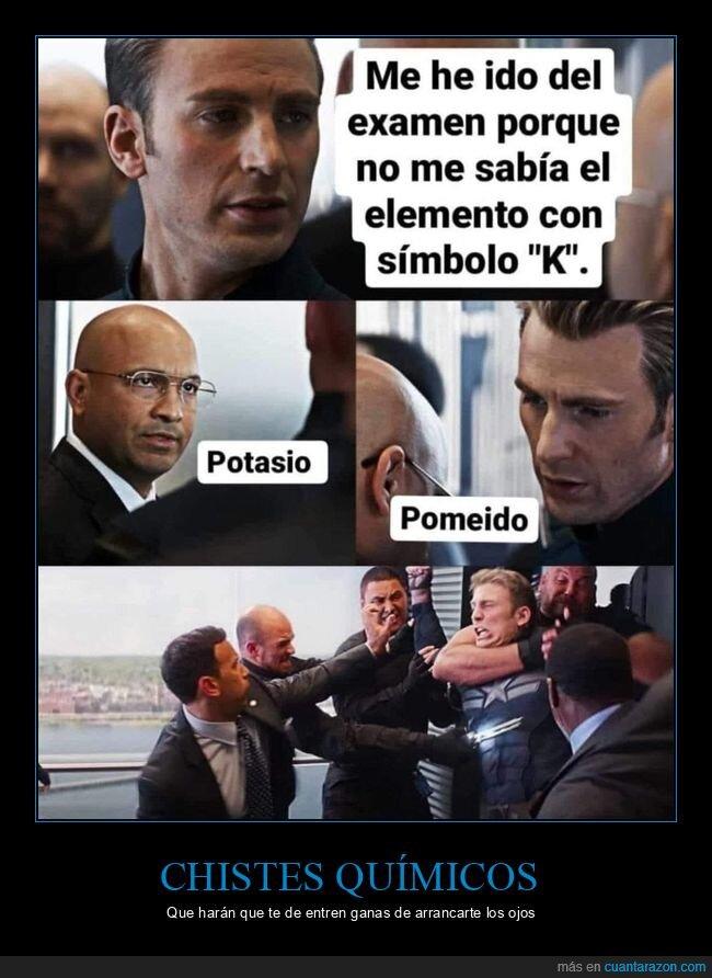 capitán américa,k,pomeido,potasio