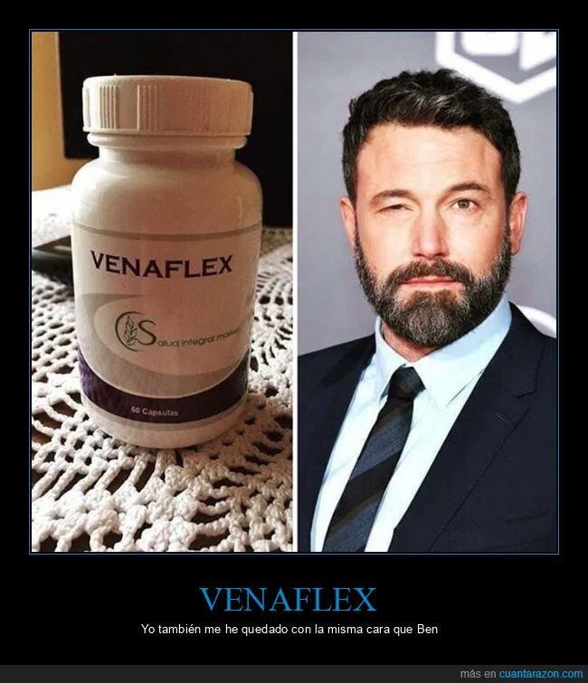 ben affleck,medicamento,venaflex