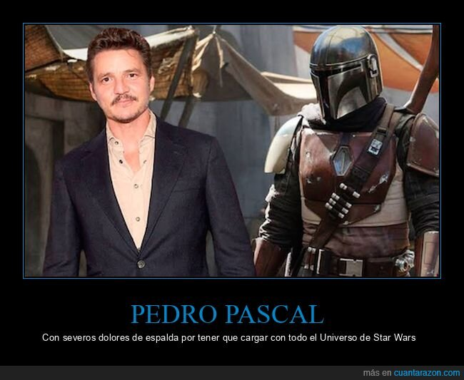 actorazo,pedro pascal,star wars