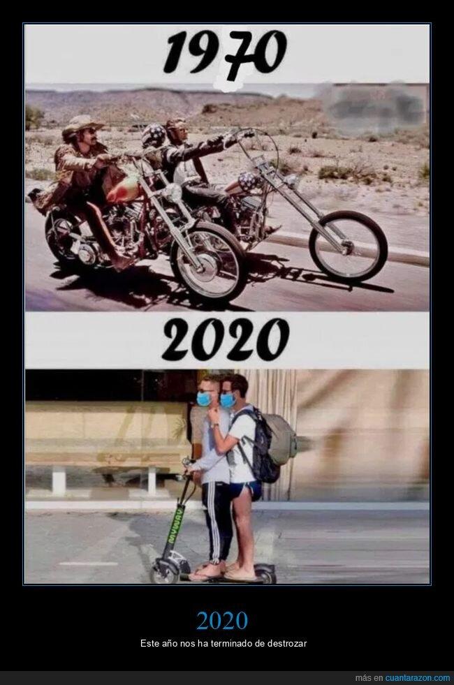 2020,masculinidad,motos,patinetes