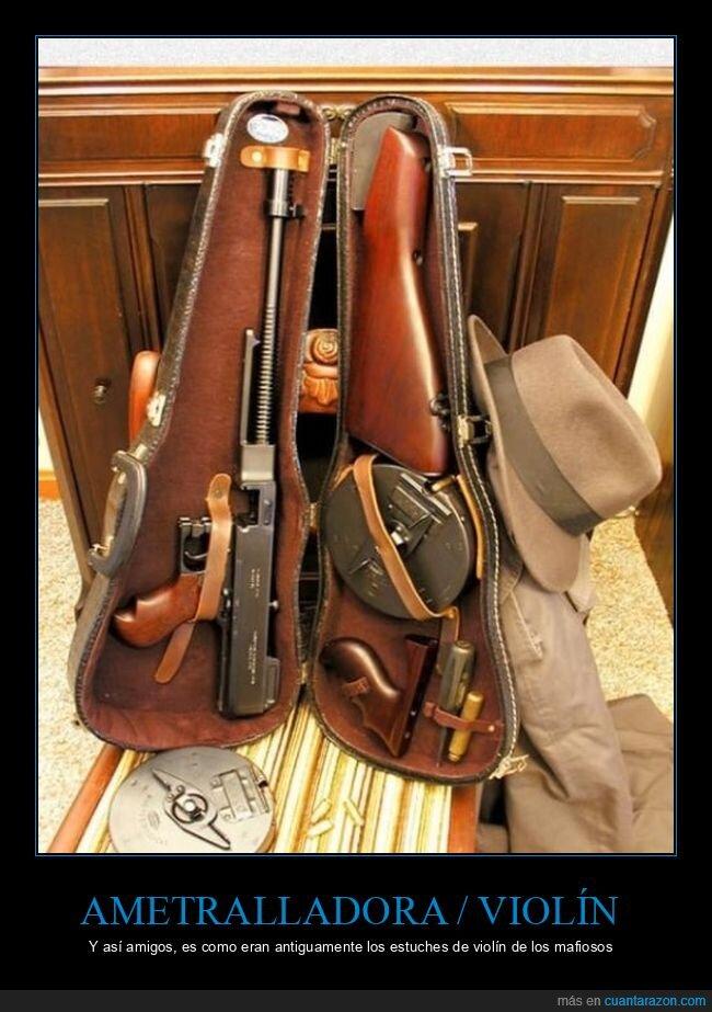 armas,Mafia,violin