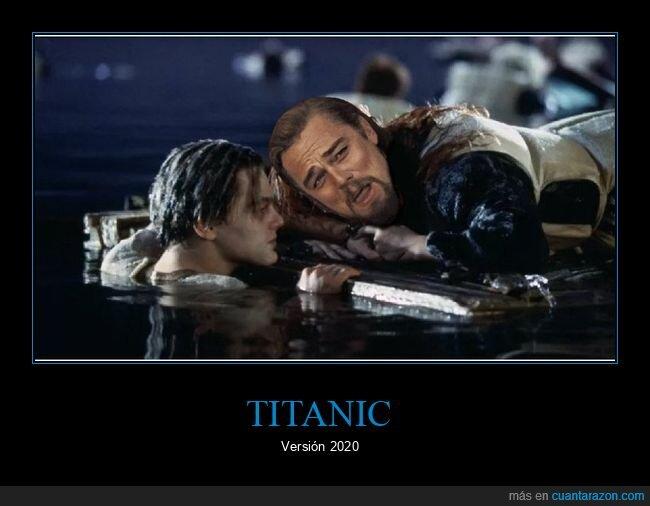 dicaprio,meme,titanic