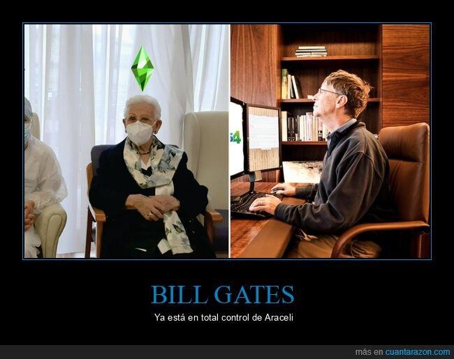 araceli,bill gates,coronavirus,vacuna