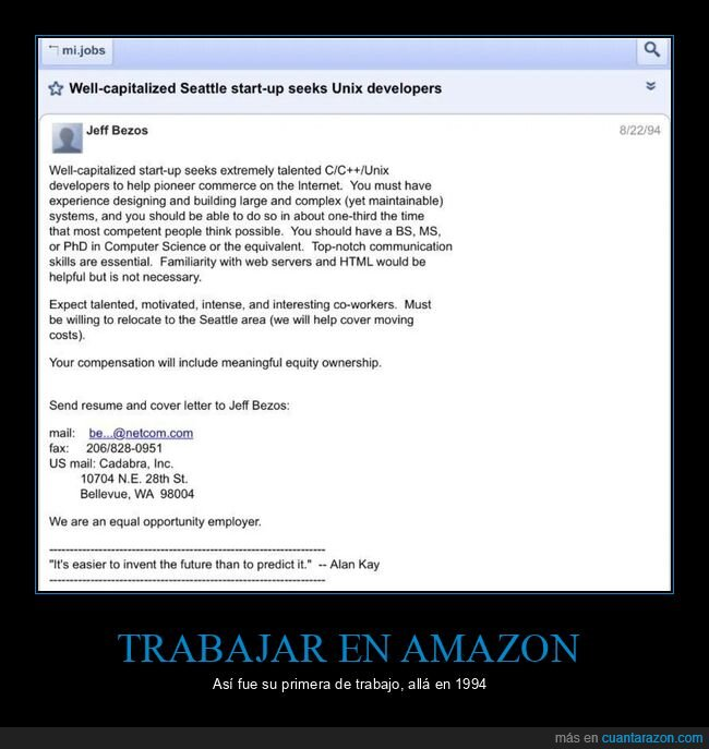 amazon,internet,sistemas,trabajo