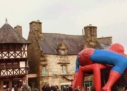 Enlace a La retaguardia de Spiderman