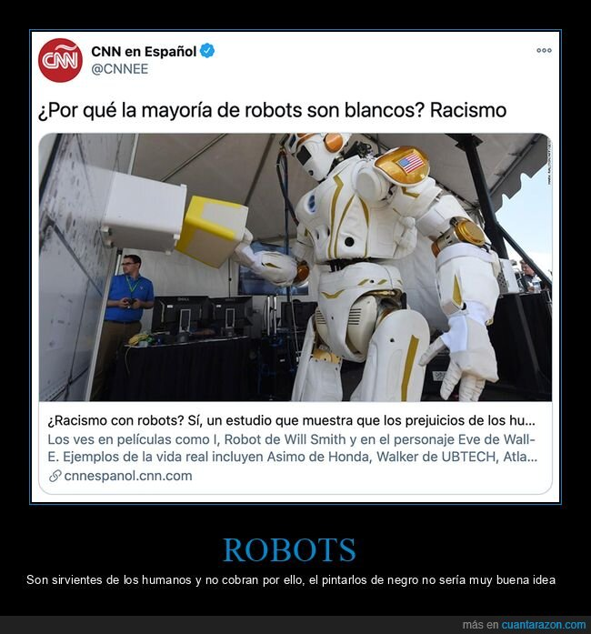 blancos,racismo,robots