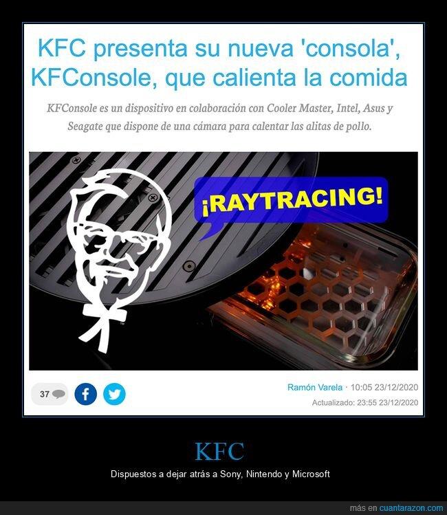 consola,kfc,wtf