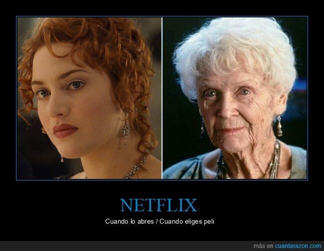 elegir,netflix,película,titanic