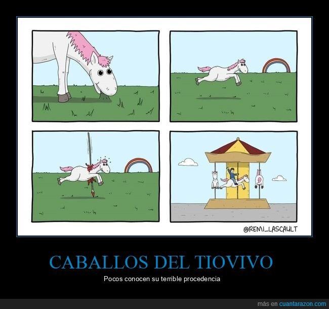 caballo,tiovivo