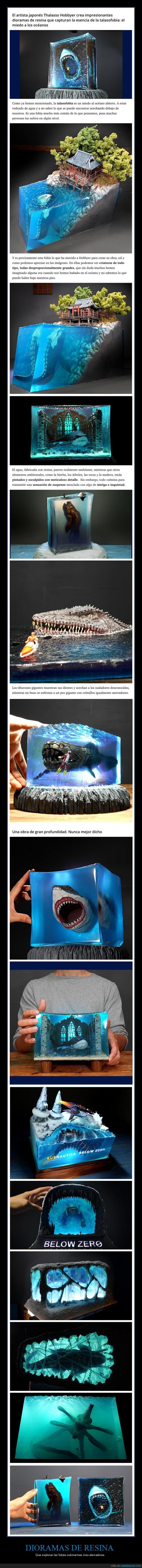 dioramas,resina