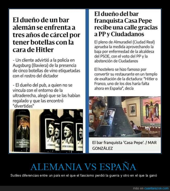 alemania,bar,dos noticias,españa,franco,hitler