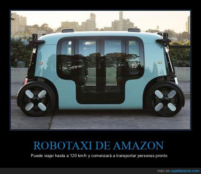 amazon,robotaxi