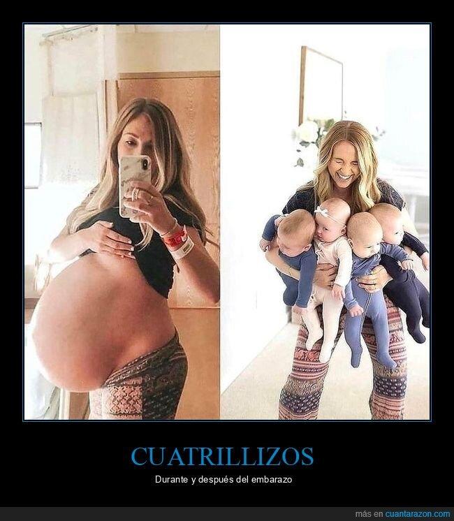 bebés,cuatrillizos,embarazo