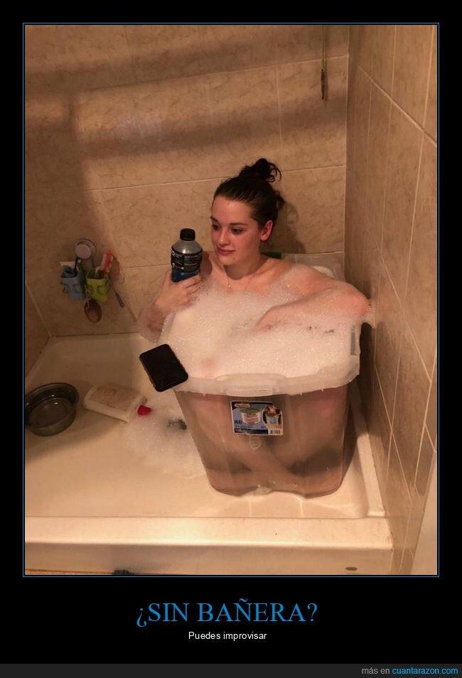 bañera,cubo,wtf