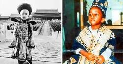 Enlace a Los reyes y reinas más jóvenes de la historia