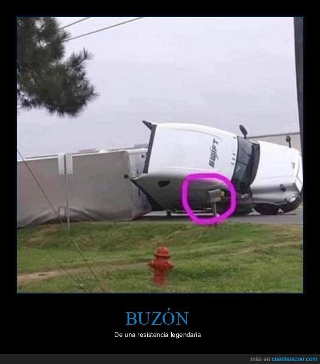 buzón,camión,wtf
