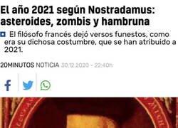Enlace a 2021, no nos defraudes