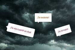 Enlace a Nubes amenazantes se acercan
