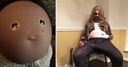 Enlace a Fotos de personas que se tomaron el embarazo con mucho sentido del humor