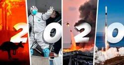 Enlace a Imágenes poderosas que resumen lo más relevante que sucedió en el 2020