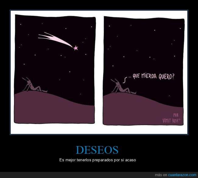 deseo,estrella fugaz,querer