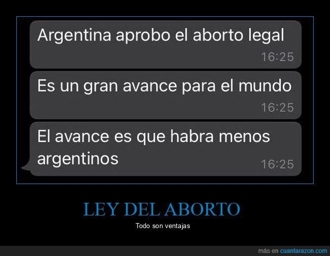 aborto,argentina,avance