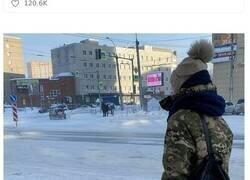 Enlace a Imágenes que muestran el increíble frío que hace en Rusia ahora mismo