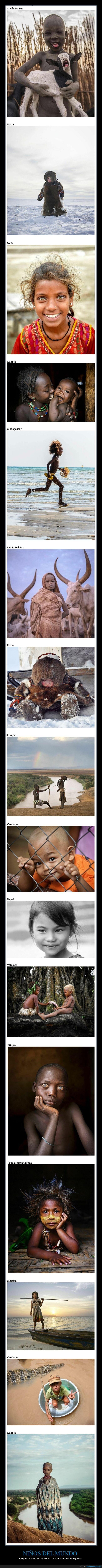 infancia,niños,países
