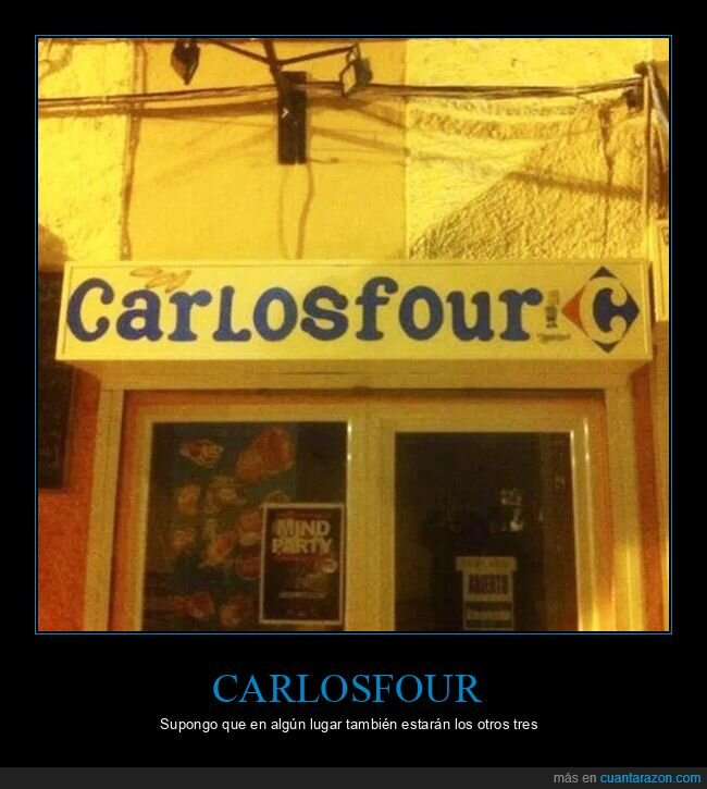 carlosfour,carrefour,nombres,tienda