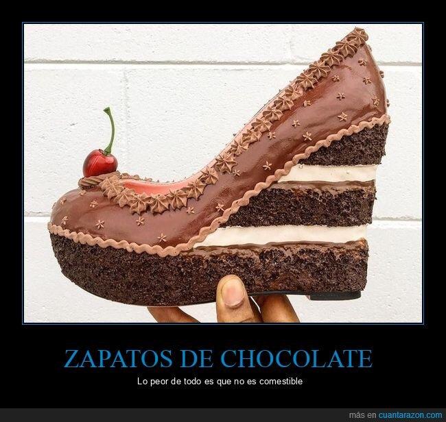 chocolate,zapato