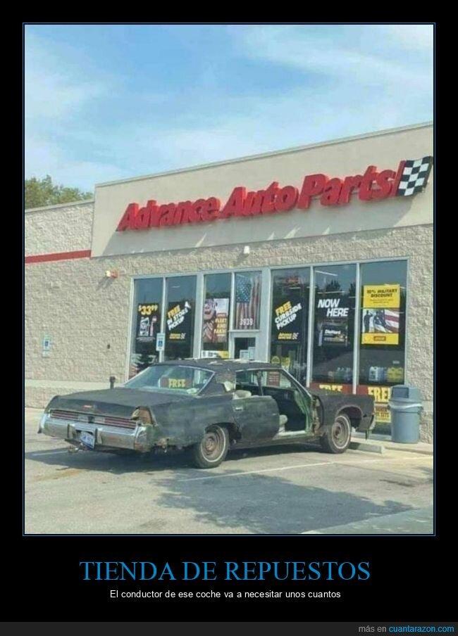 coche,repuestos,tienda