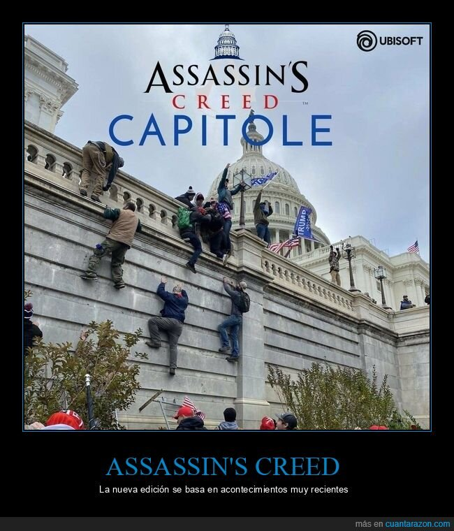 asalto,assassin's creed,capitolio,eeuu