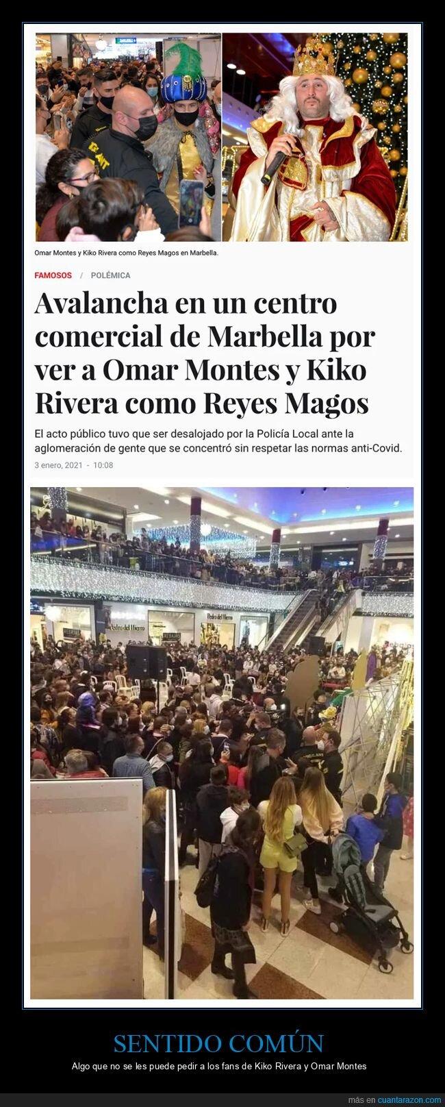 centro comercial,monguers,omar montes,paquirrín,reyes magos